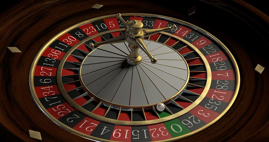 Traditional roulette wheel