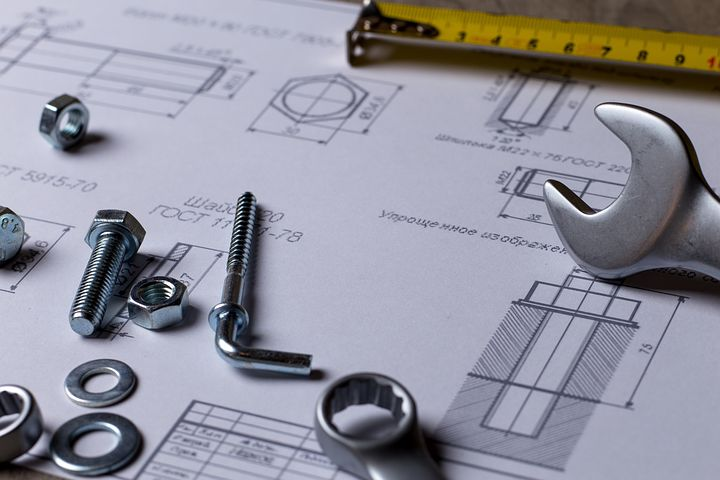 Tools with blueprints